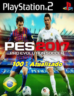 Pro Evolution Soccer 2017 Português BR – PS2 Torrent ISO