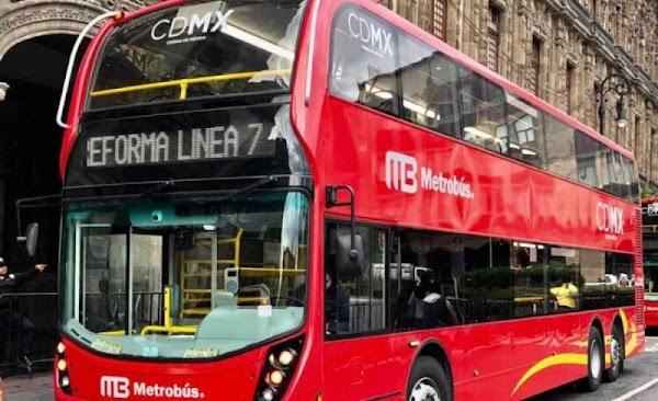Reino Unido le vendió autobuses chatarra a Mancera para el Metrobus de dos pisos: Senado.