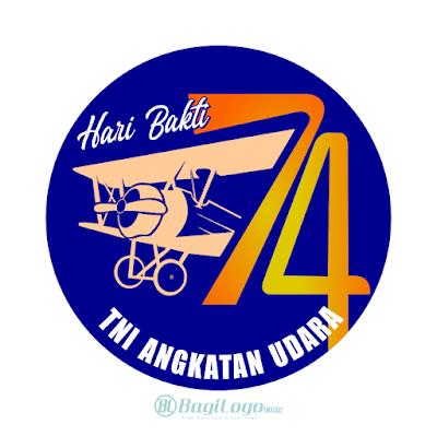 Hari Bakti TNI AU Logo Vector