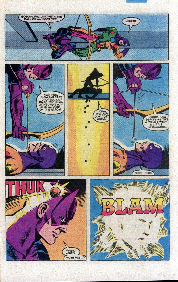 Hawkeye (1983) Issue #3 #3 - English 22