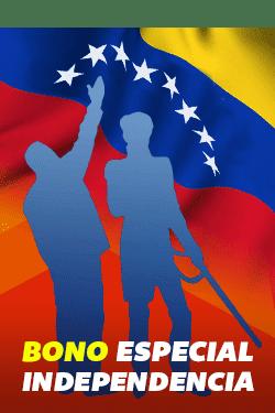 Atentos! aún siguen llegando mensajes por el Bono Especial Independencia a los portadores del carnet de la patria