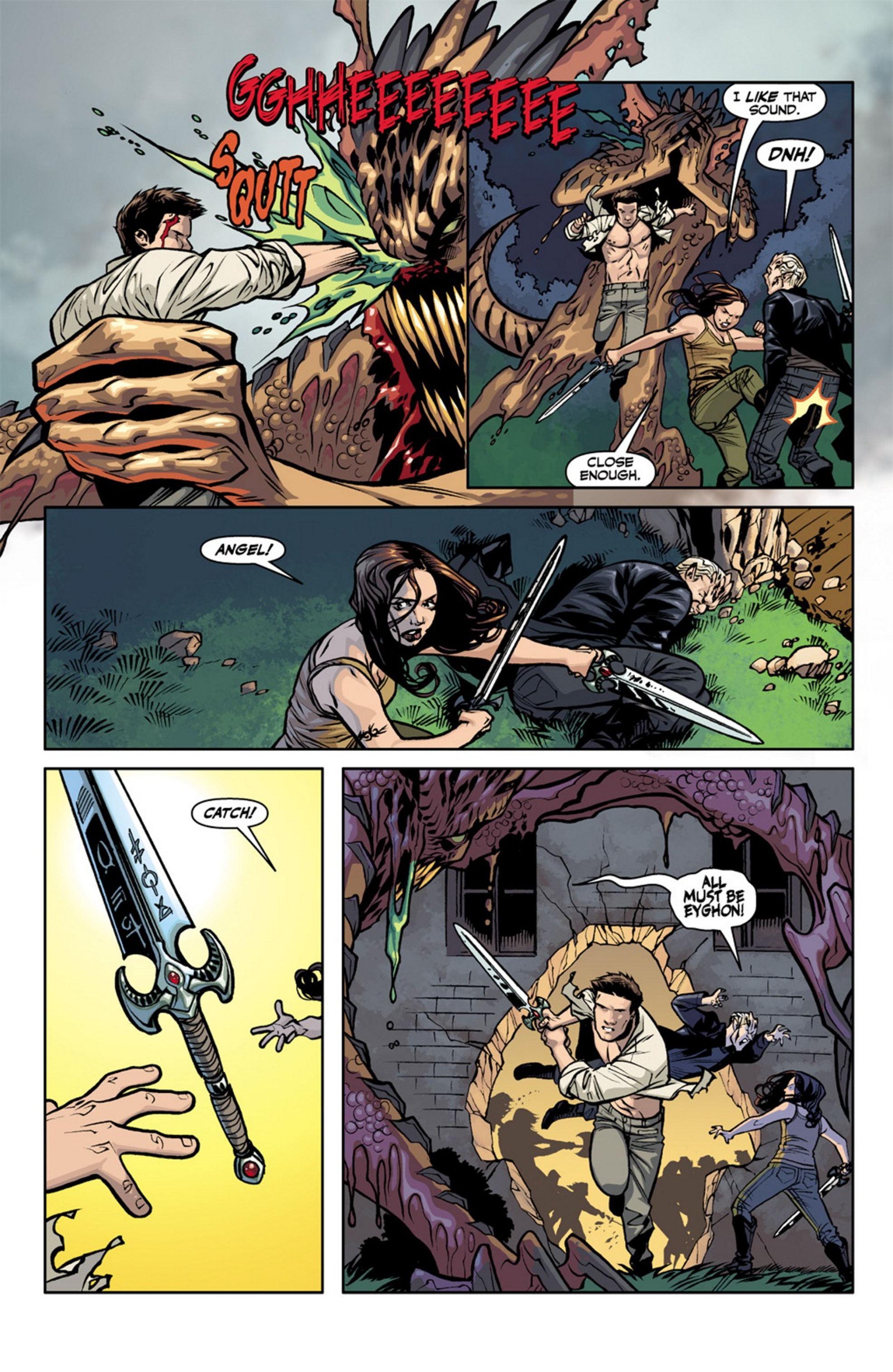 Read online Angel and Faith comic -  Issue #19 - 18