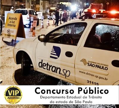 Edital de concurso público DetranSP divulga 400 vagas