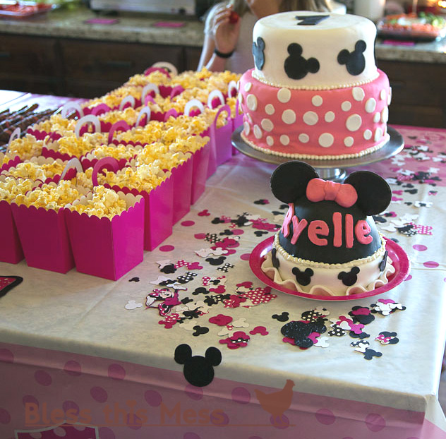 Minnie Mouse Birthday Party Food