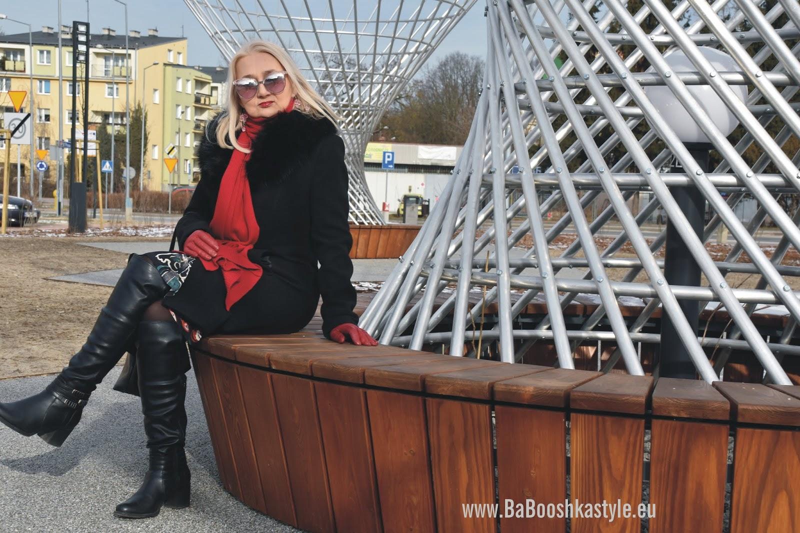 babooshkastyle, babooshka stylistka, stylistka, personal shopper, vintage, Orsay, Zara, Deichmann, skórzana, over50plus, modna50, mahogany.pl