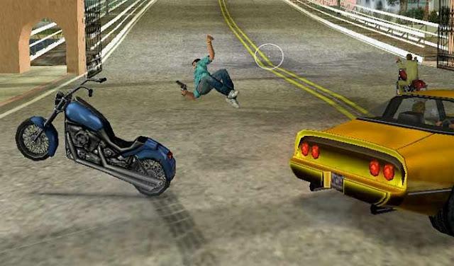 fall off bike
