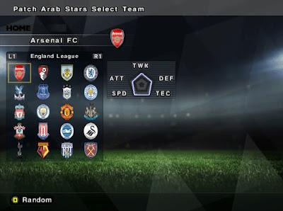 PES 6 Patch Arab Stars 2017 Season 2017/2018