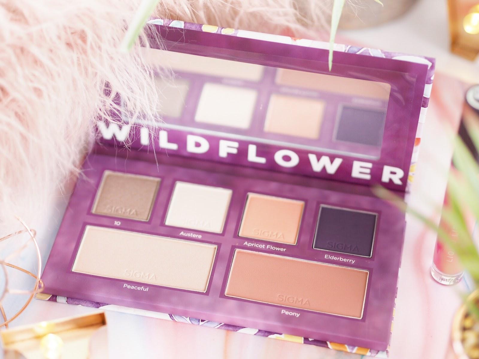 Wildflower palette, Sigma Wildflower, Sigma Wildflower Palette