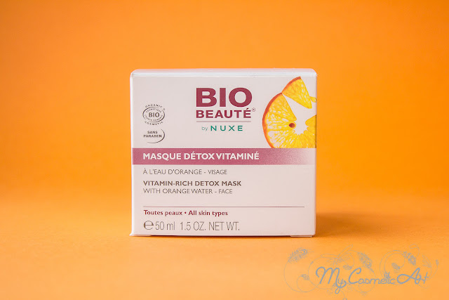 opinion mascarilla Detox Vitaminada de Nuxe Bio Beaute.