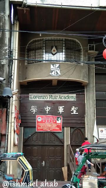 Lorenzo Ruiz Academy in Binondo, Manila