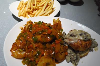 One Night Only, shrimp etouffee