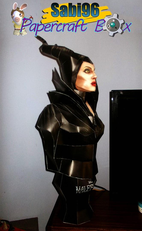 Maleficent Bust