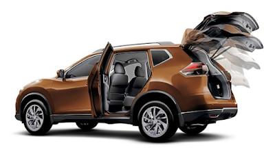 DESIGN Mobil Nissan X-Trail
