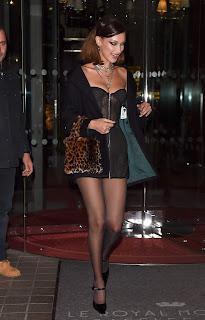 Bella Hadid Leaving the Royal Monceau el 4