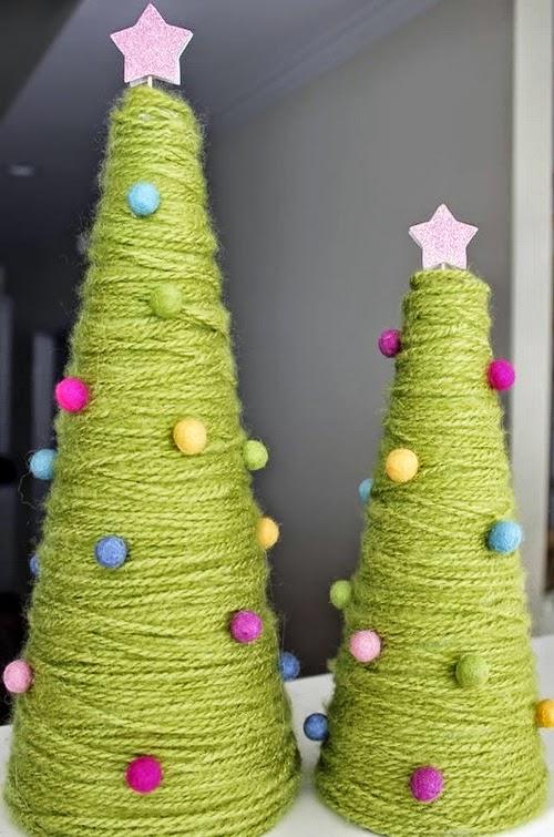 abbastanza Agenda di Margherita: L'albero di Natale tecniche fai da te VL65