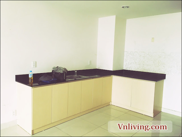 Parcspring apartment for rent 2 bedrooms unfurnished in District 2