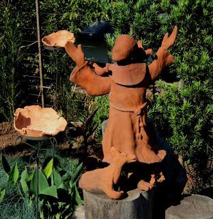 São Francisco de Assis no atelier L'arte Ceccato, em Vila Flores