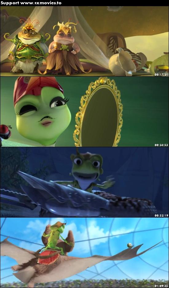 Frog Kingdom 2013 Dual Audio Hindi 480p BluRay 280mb