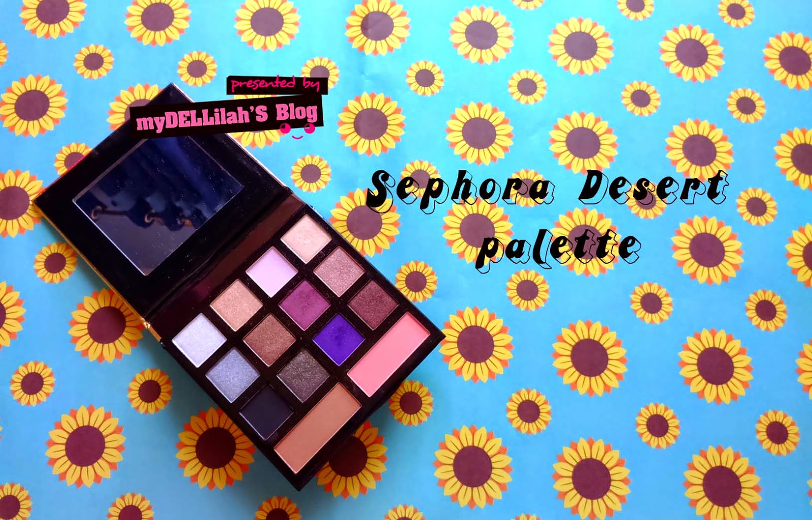 COLOR OF Sephora Desert Palette