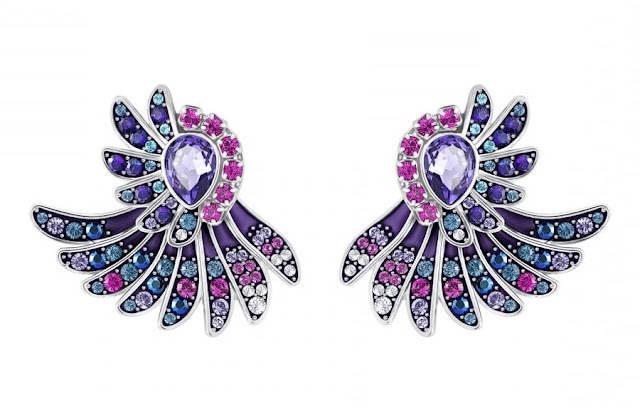 Gemstone and Diamond Earrings