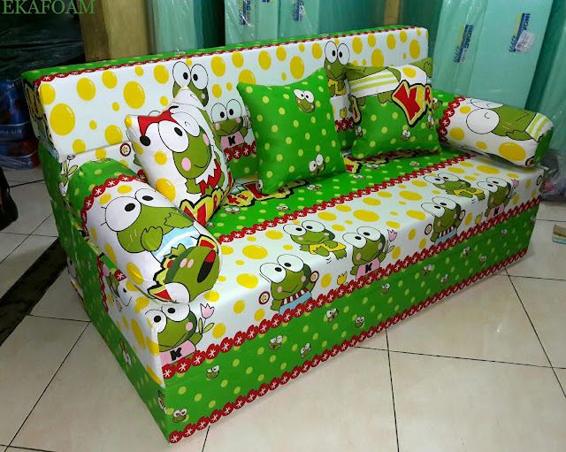 sofa bed inoac motif new keroppy