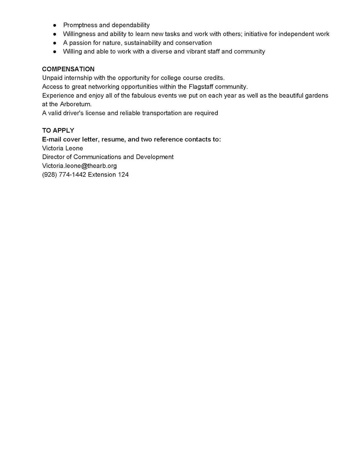sustainability cover letter