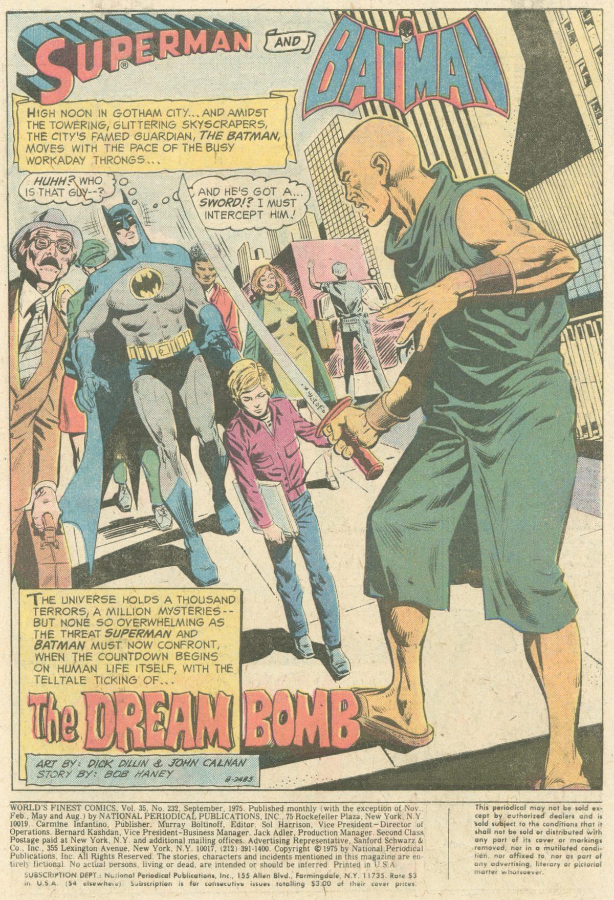 Read online World's Finest Comics comic -  Issue #232 - 3