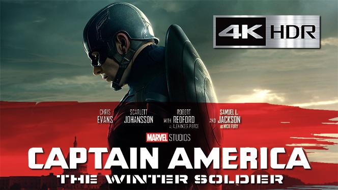 Capitán América y El Soldado Del Invierno (2014) 4K UHD [HDR] Latino-Castellano-Ingles