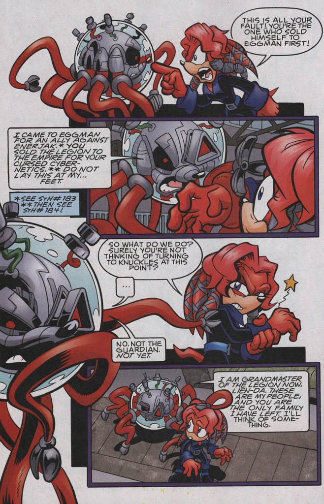 Read online Sonic The Hedgehog comic -  Issue #192 - 15