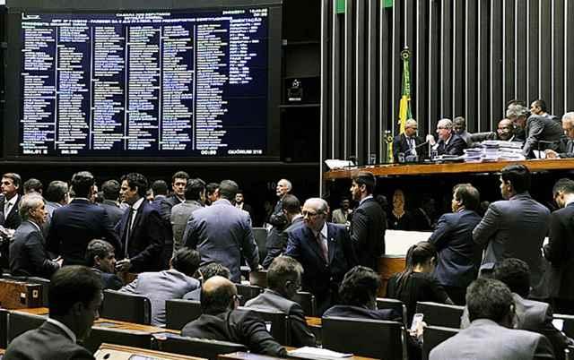 Lideranças dos partidos não estão controlando os votos de seus comandados