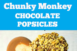 Chunky Monkey Chocolate Popsicles Recipe