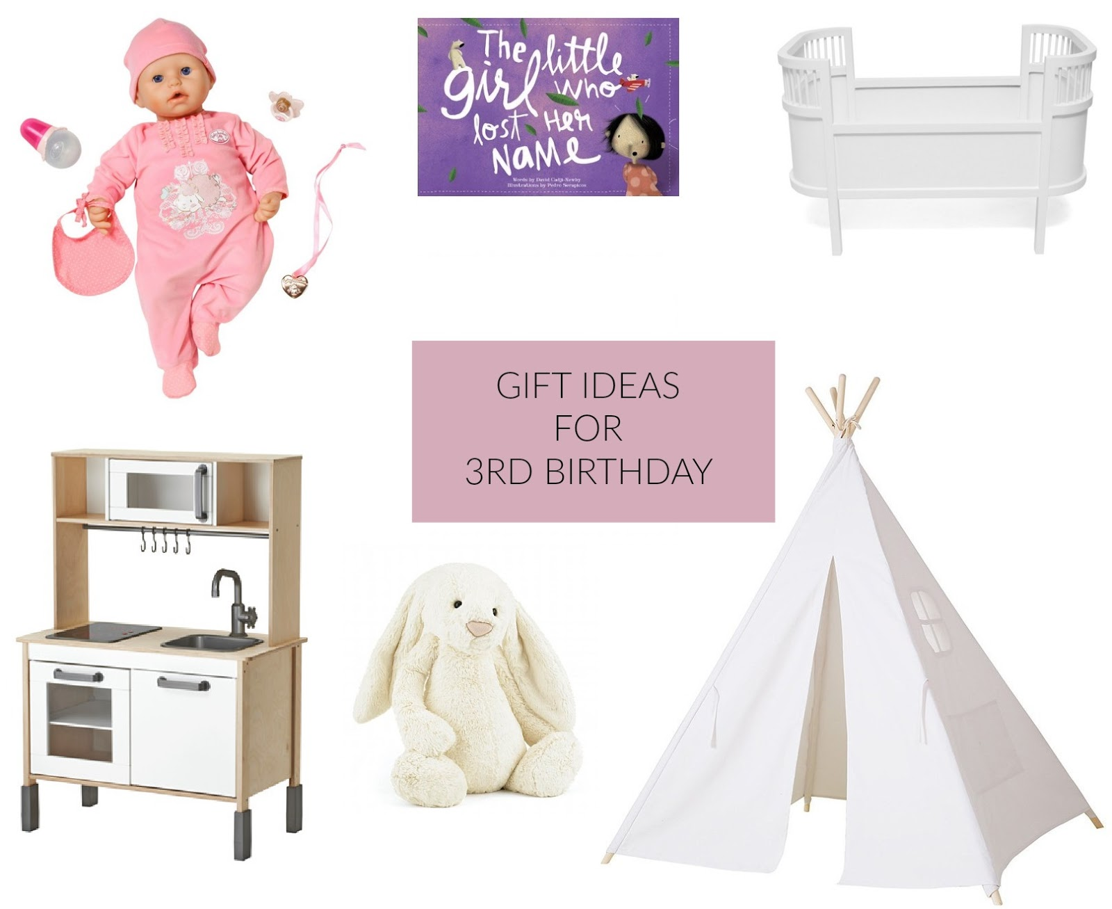Gift Ideas For 3rd Birthday
