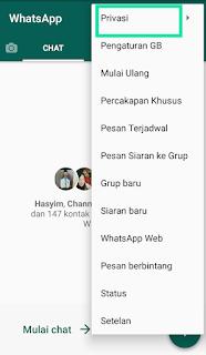 Cara mencegah teman yang menarik pesan antitarik pesan tanpa aplikasi tambahan