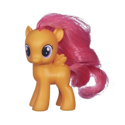 My Little Pony Cutie Mark Crusaders Friends Collection Scootaloo Brushable