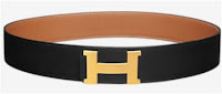 Belt Hermes Black For Girl