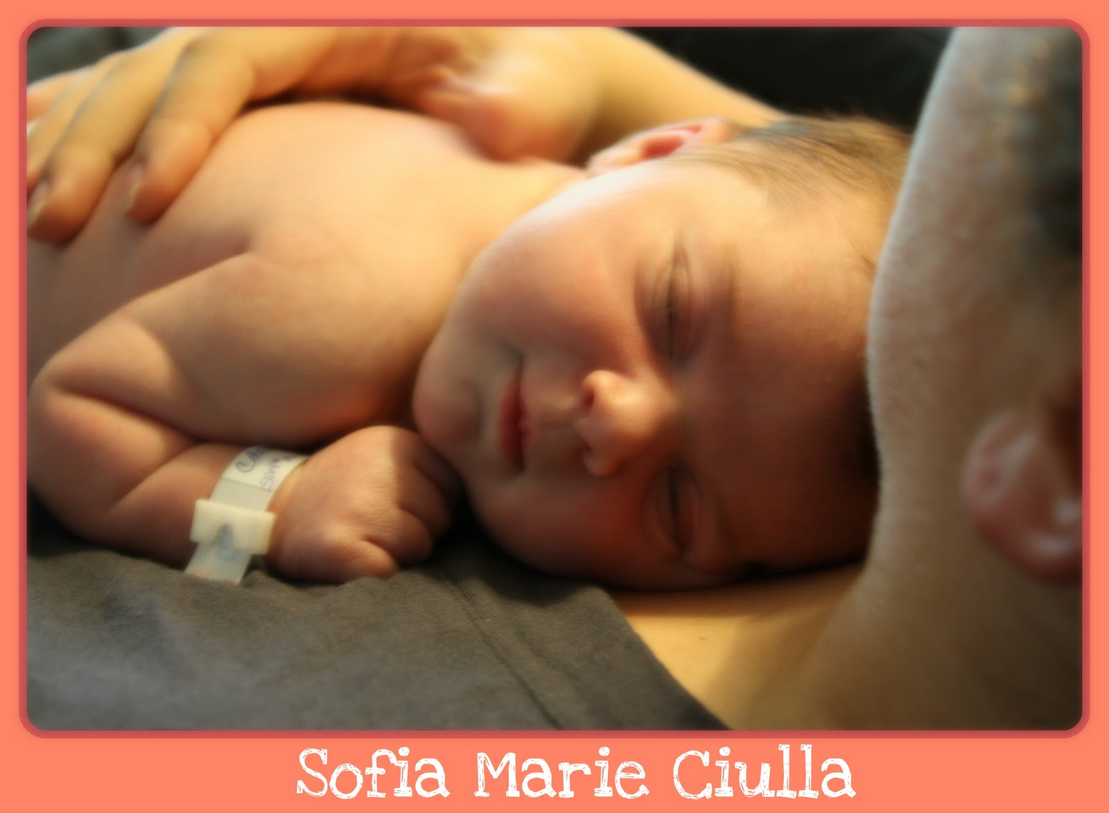 Baby Sofia Marie Has Arrived Little Miss Mama