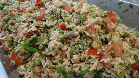 Imperial Inn - Rice Salad (veg)