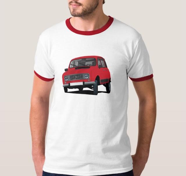 Renault 4 shirt
