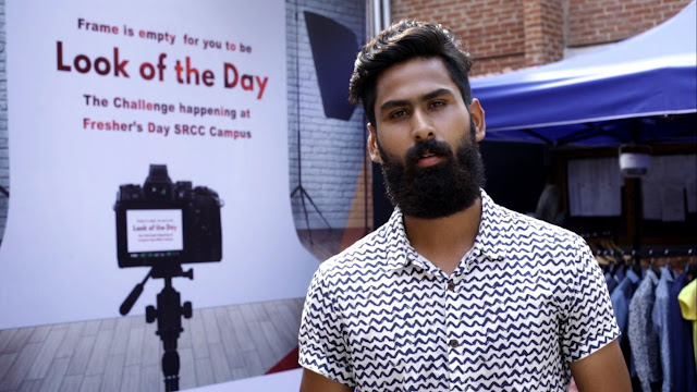 Raymond ramps up SRCC's freshers day