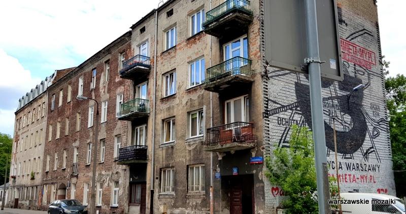 Warszawa Warsaw Praga Północ ulice Pragi Północ praskie klimaty architektura zabudowa kamienica