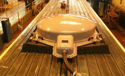 Antena de 40 cm que connecta l'AVE a Internet fins i tot en els túnels