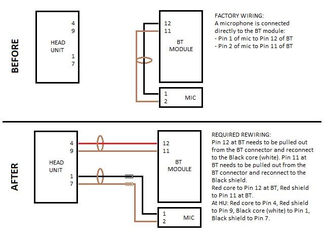 vw audio wiring harness