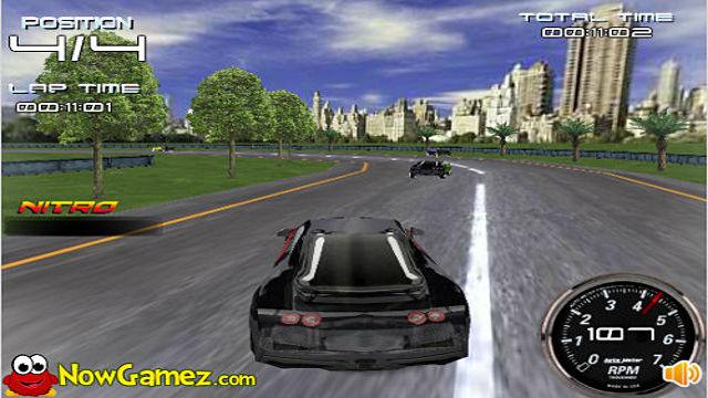 3D Bugatti Racing - Image du Jeu