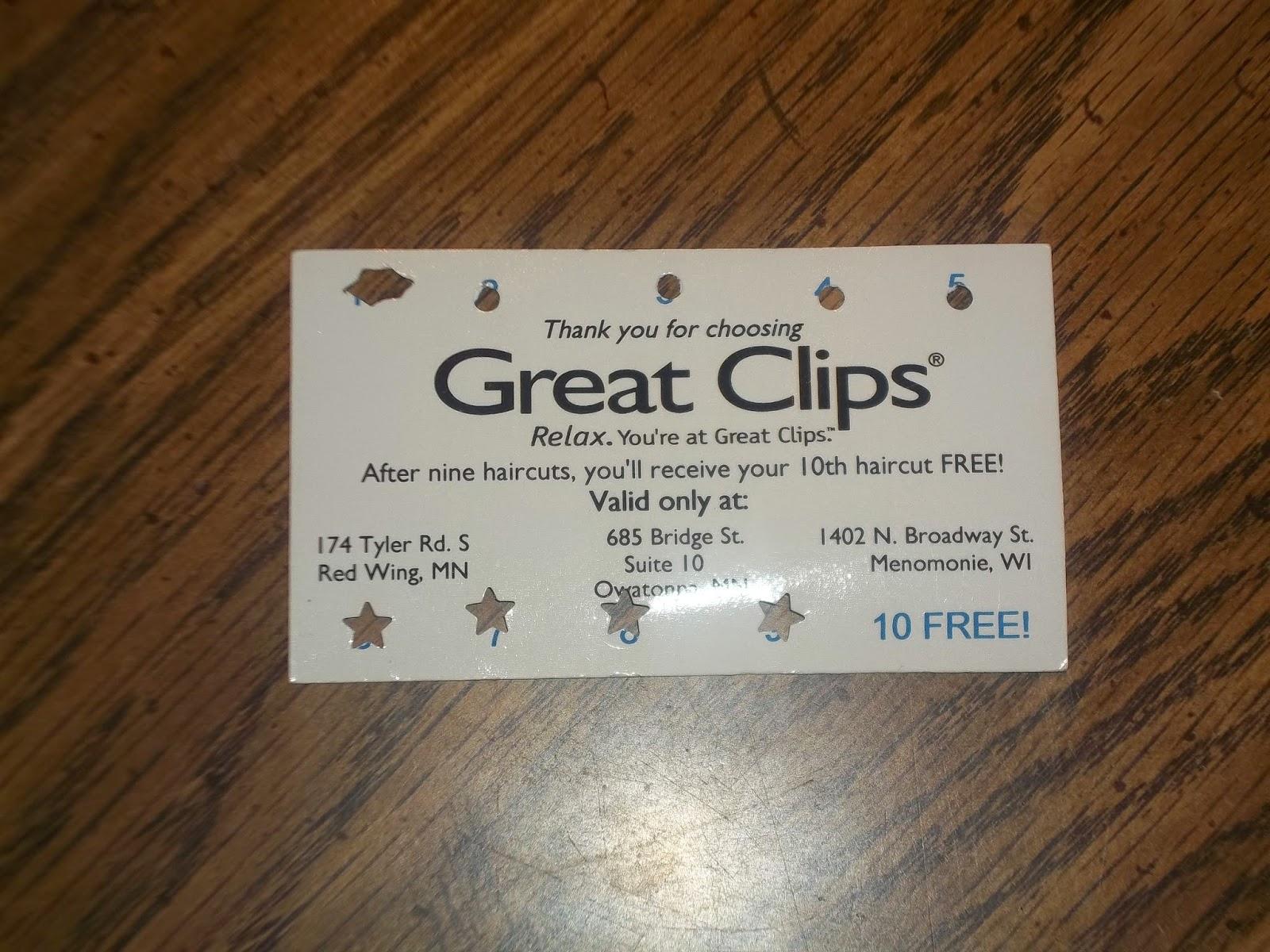 7 2014 Haircut Great Clips 99