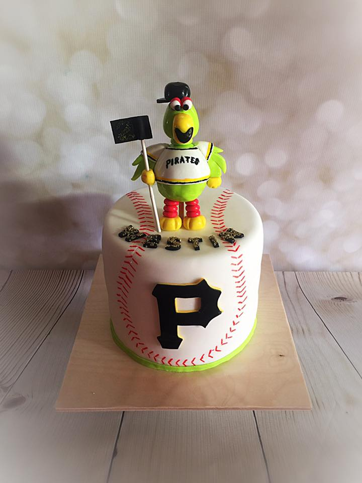 Fabulous Anna Sweets By Jess Pittsburgh Pirates Cake Funny Birthday Cards Online Alyptdamsfinfo