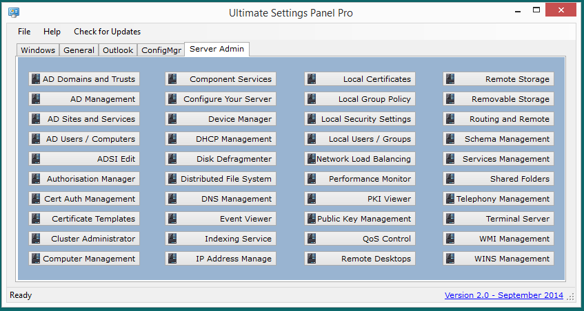 Ultimate Settings Panel Pro v2.0 Released 4