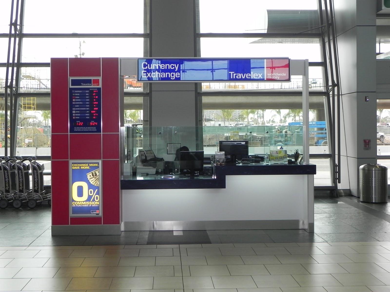 Don Hinderliter Architect: Travelex Currency Exchange Kiosk
