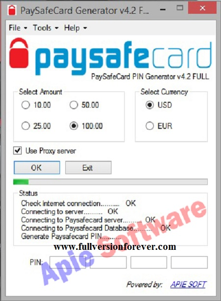 Paysafe Codes Liste