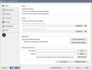 TrayStatus Pro 3.2 Multilingual Full Keygen
