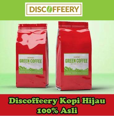 Discoffeery Kopi Hijau 100% Asli